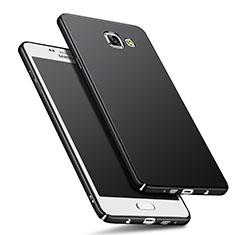 Handyhülle Hülle Kunststoff Schutzhülle Matt M01 für Samsung Galaxy A9 (2016) A9000 Schwarz