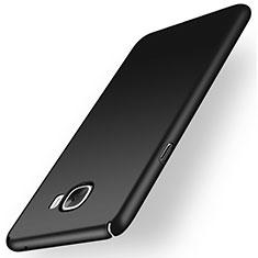 Handyhülle Hülle Kunststoff Schutzhülle Matt M01 für Samsung Galaxy C7 SM-C7000 Schwarz