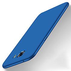 Handyhülle Hülle Kunststoff Schutzhülle Matt M01 für Samsung Galaxy C9 Pro C9000 Blau