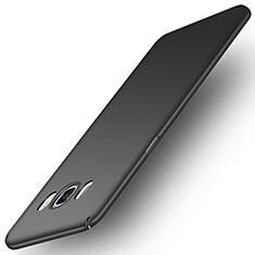 Handyhülle Hülle Kunststoff Schutzhülle Matt M01 für Samsung Galaxy J5 Duos (2016) Schwarz