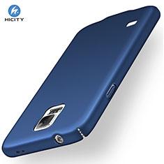 Handyhülle Hülle Kunststoff Schutzhülle Matt M01 für Samsung Galaxy S5 G900F G903F Schwarz