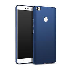 Handyhülle Hülle Kunststoff Schutzhülle Matt M01 für Xiaomi Mi Max Blau
