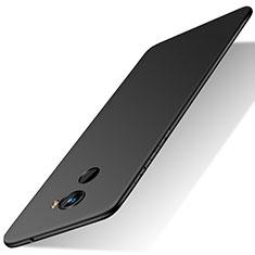 Handyhülle Hülle Kunststoff Schutzhülle Matt M01 für Xiaomi Mi Mix 2 Schwarz