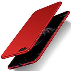 Handyhülle Hülle Kunststoff Schutzhülle Matt M01 für Xiaomi Mi Note 3 Rot