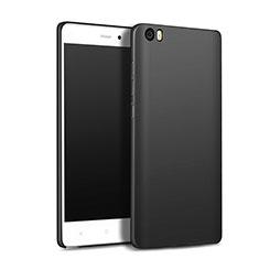 Handyhülle Hülle Kunststoff Schutzhülle Matt M01 für Xiaomi Mi Note Schwarz