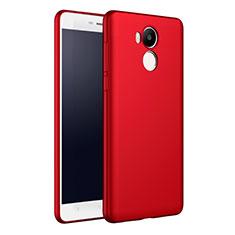 Handyhülle Hülle Kunststoff Schutzhülle Matt M01 für Xiaomi Redmi 4 Prime High Edition Rot