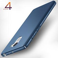 Handyhülle Hülle Kunststoff Schutzhülle Matt M01 für Xiaomi Redmi 4 Standard Edition Blau