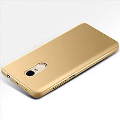 Handyhülle Hülle Kunststoff Schutzhülle Matt M01 für Xiaomi Redmi Note 4 Gold