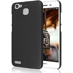 Handyhülle Hülle Kunststoff Schutzhülle Matt M02 für Huawei Enjoy 5S Schwarz