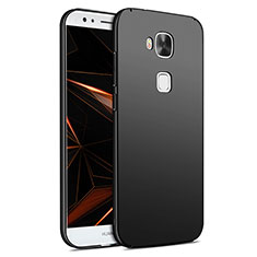 Handyhülle Hülle Kunststoff Schutzhülle Matt M02 für Huawei G7 Plus Schwarz