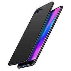 Handyhülle Hülle Kunststoff Schutzhülle Matt M02 für Huawei Honor 10 Schwarz