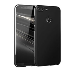Handyhülle Hülle Kunststoff Schutzhülle Matt M02 für Huawei Honor 9 Lite Schwarz