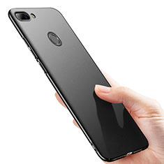 Handyhülle Hülle Kunststoff Schutzhülle Matt M02 für Huawei Honor 9i Schwarz