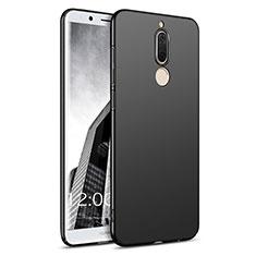 Handyhülle Hülle Kunststoff Schutzhülle Matt M02 für Huawei Mate 10 Lite Schwarz