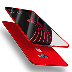 Handyhülle Hülle Kunststoff Schutzhülle Matt M02 für Huawei Mate S Rot