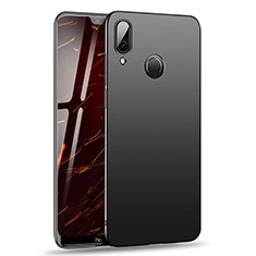 Handyhülle Hülle Kunststoff Schutzhülle Matt M02 für Huawei Nova 3 Schwarz