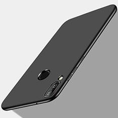 Handyhülle Hülle Kunststoff Schutzhülle Matt M02 für Huawei P Smart+ Plus Schwarz
