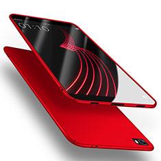 Handyhülle Hülle Kunststoff Schutzhülle Matt M02 für Huawei P8 Lite Rot