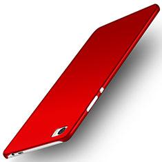 Handyhülle Hülle Kunststoff Schutzhülle Matt M02 für Huawei P8 Max Rot