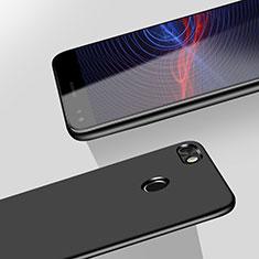 Handyhülle Hülle Kunststoff Schutzhülle Matt M02 für Huawei Y6 Pro (2017) Schwarz