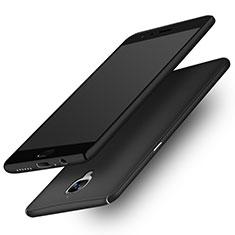 Handyhülle Hülle Kunststoff Schutzhülle Matt M02 für OnePlus 3T Schwarz
