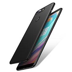Handyhülle Hülle Kunststoff Schutzhülle Matt M02 für OnePlus 5T A5010 Schwarz