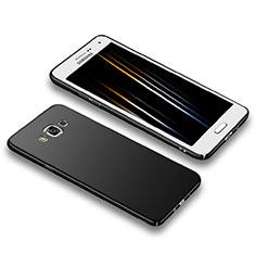 Handyhülle Hülle Kunststoff Schutzhülle Matt M02 für Samsung Galaxy A5 Duos SM-500F Schwarz