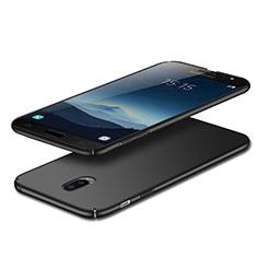 Handyhülle Hülle Kunststoff Schutzhülle Matt M02 für Samsung Galaxy C7 (2017) Schwarz