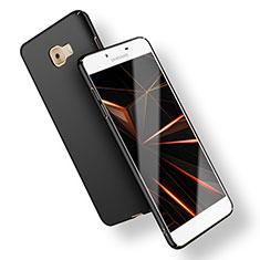 Handyhülle Hülle Kunststoff Schutzhülle Matt M02 für Samsung Galaxy C9 Pro C9000 Schwarz
