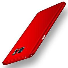 Handyhülle Hülle Kunststoff Schutzhülle Matt M02 für Samsung Galaxy Note 5 N9200 N920 N920F Rot