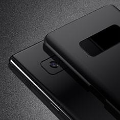 Handyhülle Hülle Kunststoff Schutzhülle Matt M02 für Samsung Galaxy Note 8 Schwarz