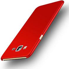 Handyhülle Hülle Kunststoff Schutzhülle Matt M02 für Samsung Galaxy On7 G600FY Rot