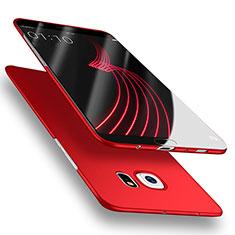 Handyhülle Hülle Kunststoff Schutzhülle Matt M02 für Samsung Galaxy S6 SM-G920 Rot