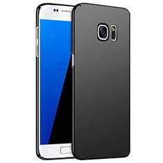 Handyhülle Hülle Kunststoff Schutzhülle Matt M02 für Samsung Galaxy S7 G930F G930FD Schwarz