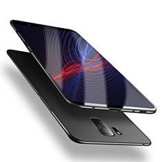 Handyhülle Hülle Kunststoff Schutzhülle Matt M02 für Samsung Galaxy S9 Schwarz