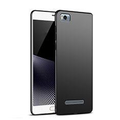 Handyhülle Hülle Kunststoff Schutzhülle Matt M02 für Xiaomi Mi 4i Schwarz