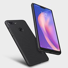 Handyhülle Hülle Kunststoff Schutzhülle Matt M02 für Xiaomi Mi 8 Lite Schwarz