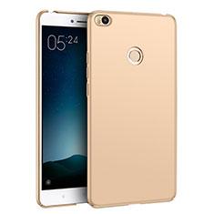Handyhülle Hülle Kunststoff Schutzhülle Matt M02 für Xiaomi Mi Max 2 Gold
