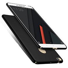 Handyhülle Hülle Kunststoff Schutzhülle Matt M02 für Xiaomi Mi Max 2 Schwarz