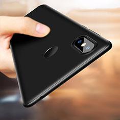 Handyhülle Hülle Kunststoff Schutzhülle Matt M02 für Xiaomi Mi Mix 3 Schwarz