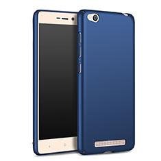 Handyhülle Hülle Kunststoff Schutzhülle Matt M02 für Xiaomi Redmi 3 Blau