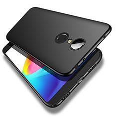 Handyhülle Hülle Kunststoff Schutzhülle Matt M02 für Xiaomi Redmi 5 Schwarz