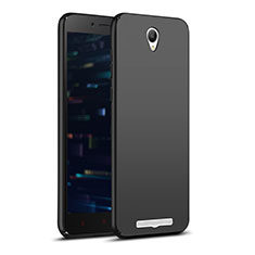 Handyhülle Hülle Kunststoff Schutzhülle Matt M02 für Xiaomi Redmi Note 2 Schwarz