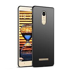 Handyhülle Hülle Kunststoff Schutzhülle Matt M02 für Xiaomi Redmi Note 3 MediaTek Schwarz