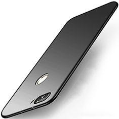 Handyhülle Hülle Kunststoff Schutzhülle Matt M03 für Huawei Enjoy 7S Schwarz