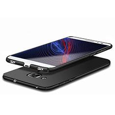 Handyhülle Hülle Kunststoff Schutzhülle Matt M03 für Huawei Honor 5C Schwarz