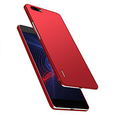 Handyhülle Hülle Kunststoff Schutzhülle Matt M03 für Huawei Honor 6 Plus Rot