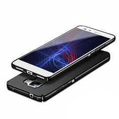 Handyhülle Hülle Kunststoff Schutzhülle Matt M03 für Huawei Honor 7 Dual SIM Schwarz