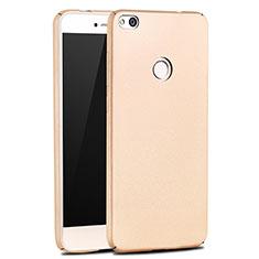 Handyhülle Hülle Kunststoff Schutzhülle Matt M03 für Huawei Honor 8 Lite Gold