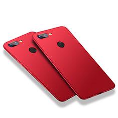 Handyhülle Hülle Kunststoff Schutzhülle Matt M03 für Huawei Honor 9i Rot